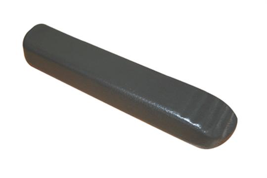 set meyra armlehnen pu schaum schwarz 235x58x35mm l cher 2x m5 steckma 128mm mit. Black Bedroom Furniture Sets. Home Design Ideas
